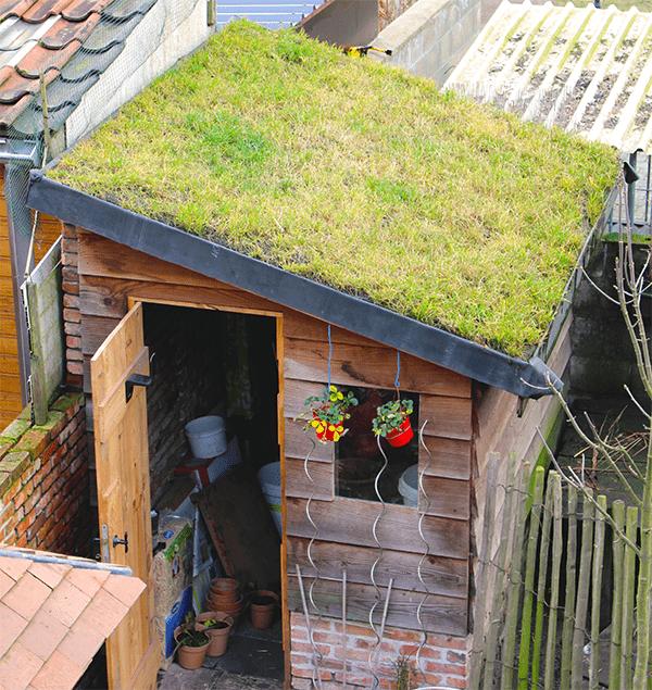 Dak tuinhuis waterdicht maken dak te repareren for Huis waterdicht maken