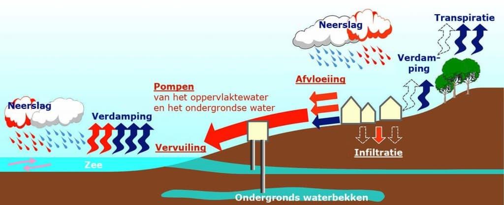 regenwater grondwater riolering groendak