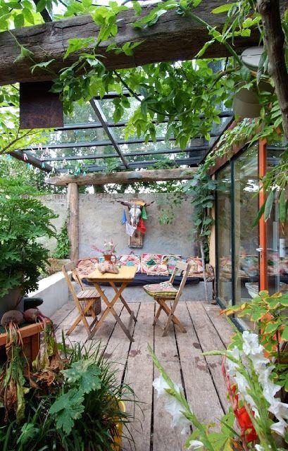 10 tips voor een gezellig tuindak terras - gezellig