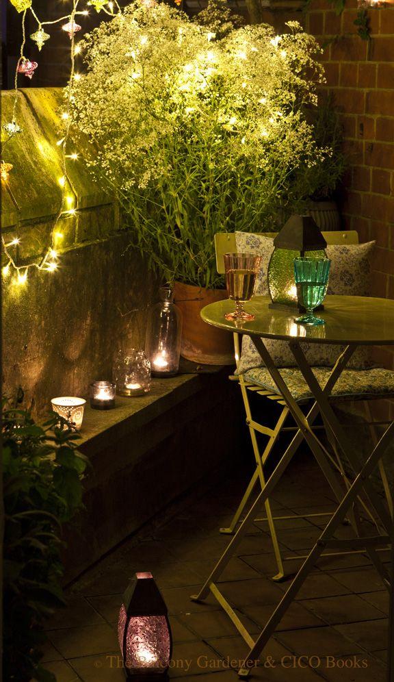 10 tips voor een gezellig tuindak terras - sfeerlicht op je dakterras