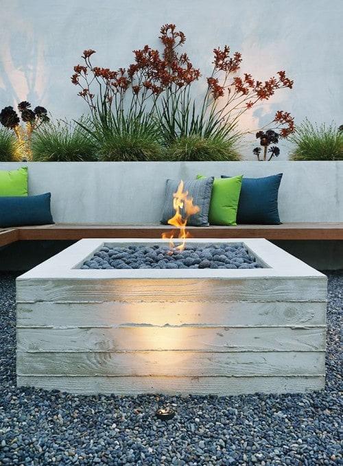 10 tips voor een gezellig tuindak terras - vuur op je dakterras