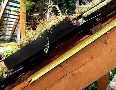 groendakpan details afmetingen groendak